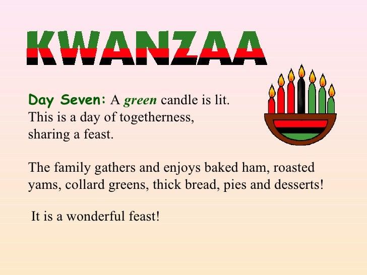 Kwanzaa kindergarten powerpoint