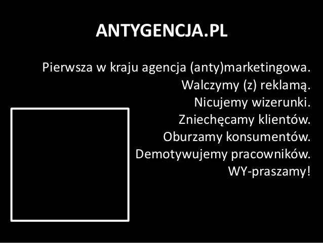 Debiutancki kwartał Antygencji Slide 2