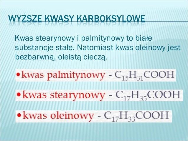 Kwasy karboksylowe informacje