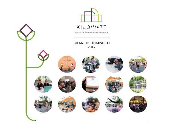 BILANCIO DI IMPATTO 2017