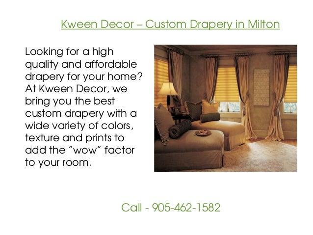 Kween Decor - Window Covering in Milton Slide 3