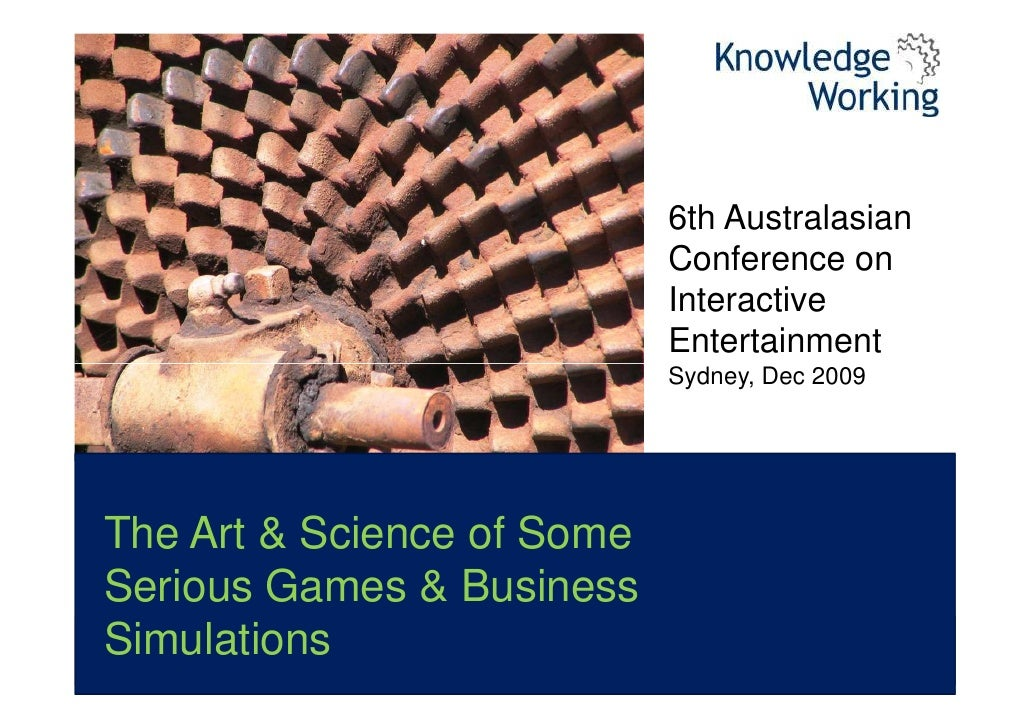 6th Australasian                             Conference on                             Interactive                        ...