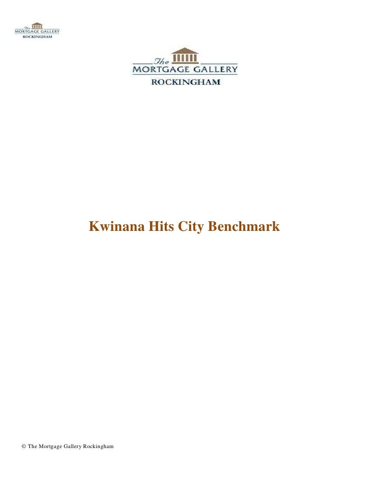 Kwinana Hits City Benchmark© The Mortgage Gallery Rockingham