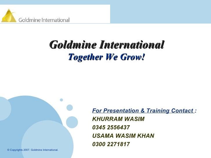 <ul><li>For Presentation & Training Contact  : </li></ul><ul><li>KHURRAM WASIM  </li></ul><ul><li>0345 2556437 </li></ul><...