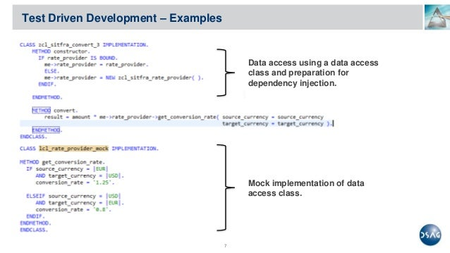 example driven development