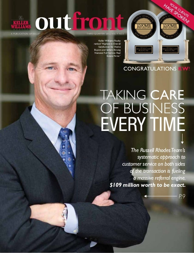 Keller Williams Outfront Magazine Online Edition - 2012-3Q