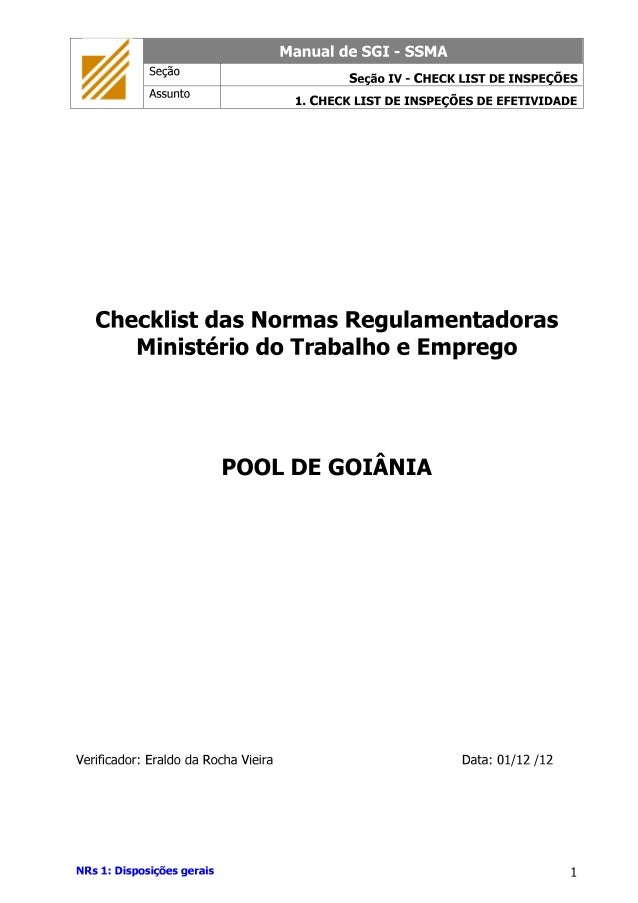 Goiania checklist nr_2011