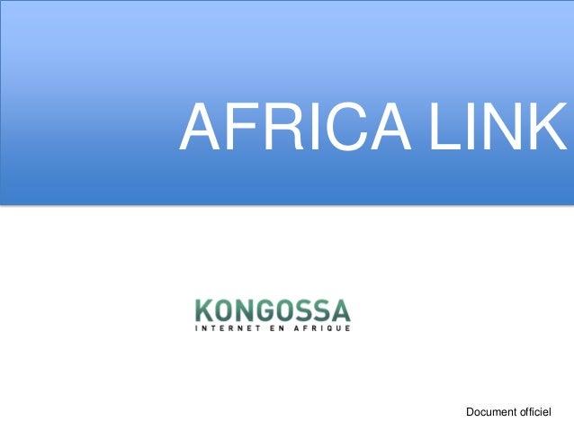 AFRICA LINK        Document officiel