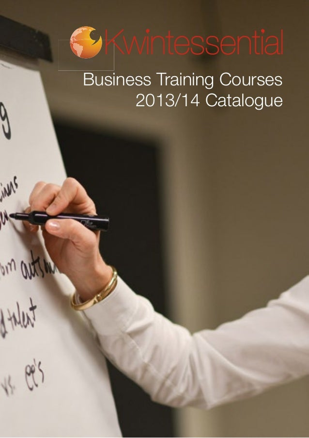 Business Training Courses 2013/14 Catalogue