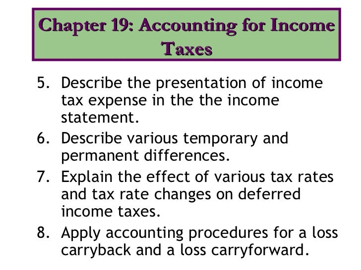 the determinants of the deferred tax allowance account under sfas essay Download citation | the determinants of | in this study, we examine empirically the association between the recognized deferred tax asset valuation allowance and certain variables put forth as sources of evidence in the fasb's (1992) statement of financial accounting standard (sfas) no 109.