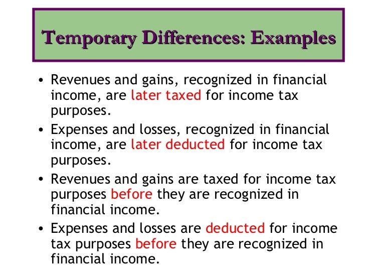 income tax under gaap and ifer Income tax basis is considered an ocba (other comprehensive basis of accounting) and is very common fo small- to medium- size business why the difference when an accountant is primarily preparing the financial statements in order to prepare a tax return, why do gaap.