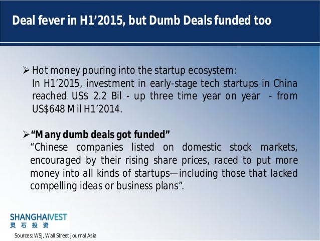 China Unicorns and the Venture Capital Funding environment slideshare - 웹