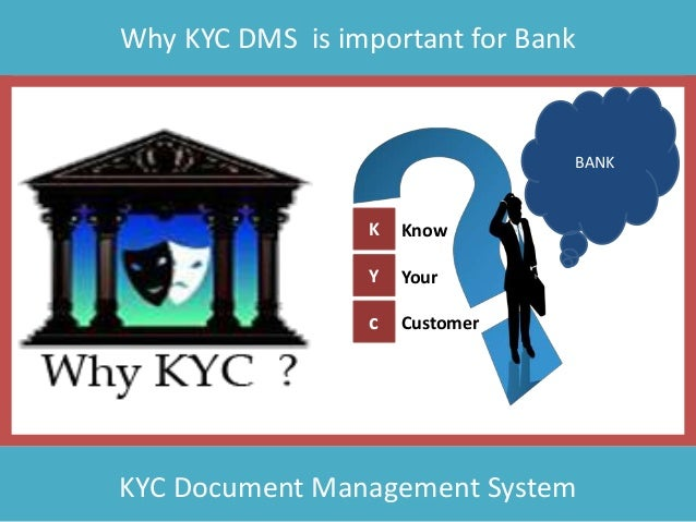 Why KYC DMS is important for Bank K Y c Know Your Customer BANK KYC Document Management System
