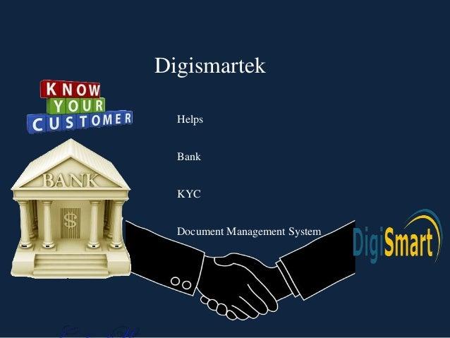 Digismartek Document Management System Helps Bank KYC