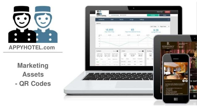 Marketing Assets - QR Codes APPYHOTEL.com