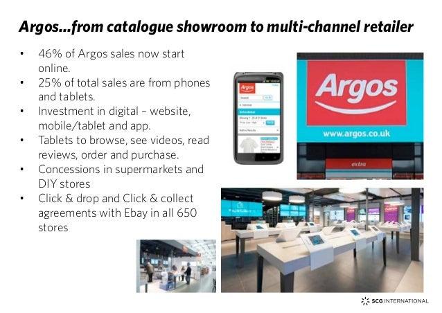 The Digital Customer Experience 24 O 46 Of Argos Sales