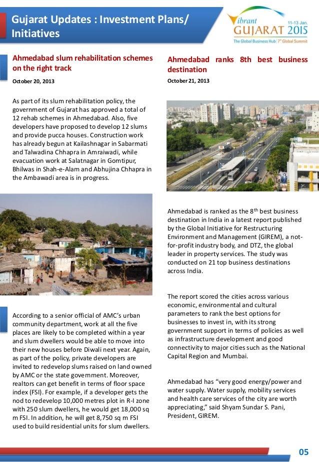 Vibrant Gujarat Summit Report on Contribution of Gujarat for developm…