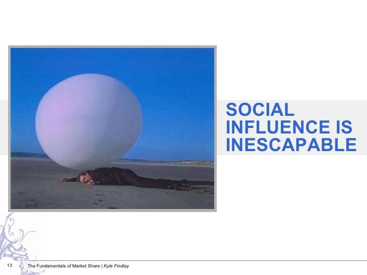 SOCIAL INFLUENCE IS INESCAPABLE