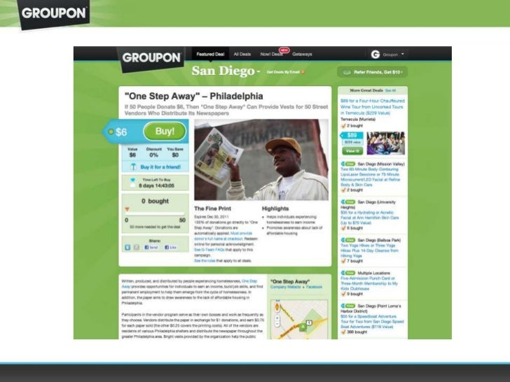 Kyle Klatt, Groupon: Groupon for Good
