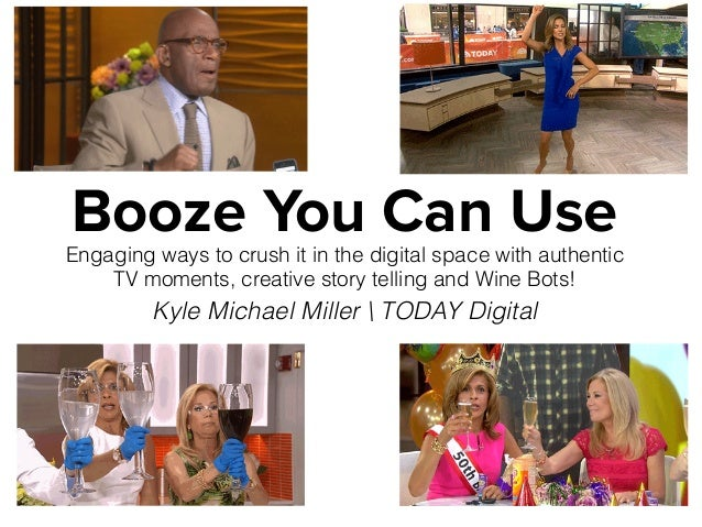 Booze You Can Use Engaging ways to crush it in the digital space with authentic TV moments, creative story telling and Win...