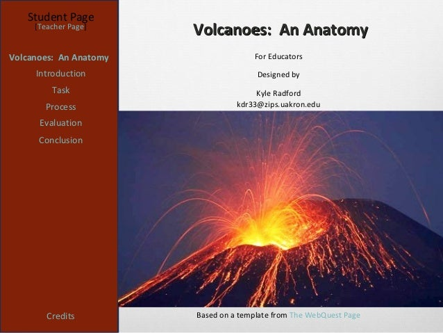 Kyle radford volcano webquest student page teacher page volcanoes an anatomyvolcanoes toneelgroepblik Gallery