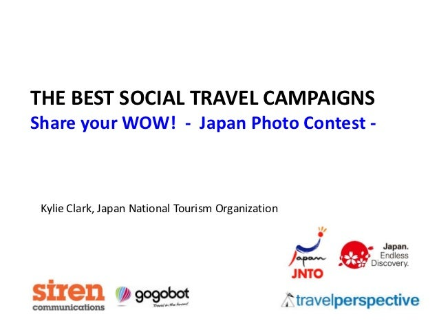 THE BEST SOCIAL TRAVEL CAMPAIGNSShare your WOW! - Japan Photo Contest - Kylie Clark, Japan National Tourism Organization
