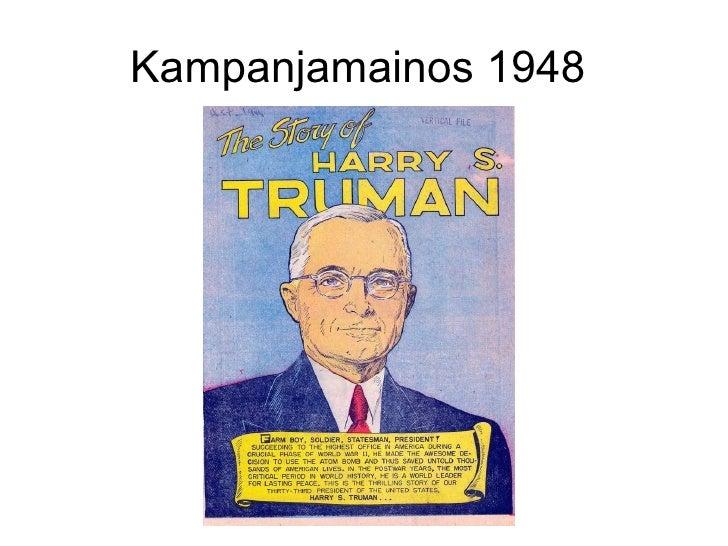 Kampanjamainos 1948