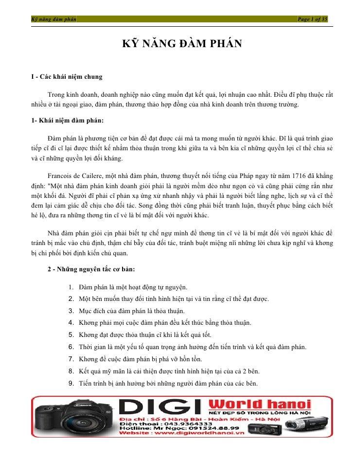 Kỹ năng đàm phán                                                                                 Page 1 of 35             ...