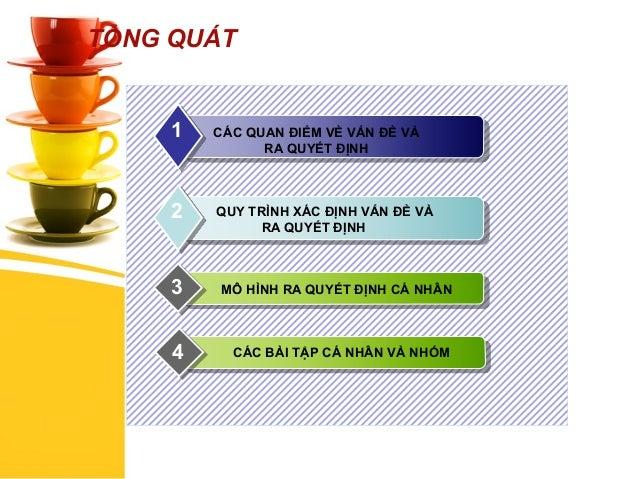 Kỹ năng xác định vấn đề và ra quyết định - TS Châu Đình Linh Slide 2