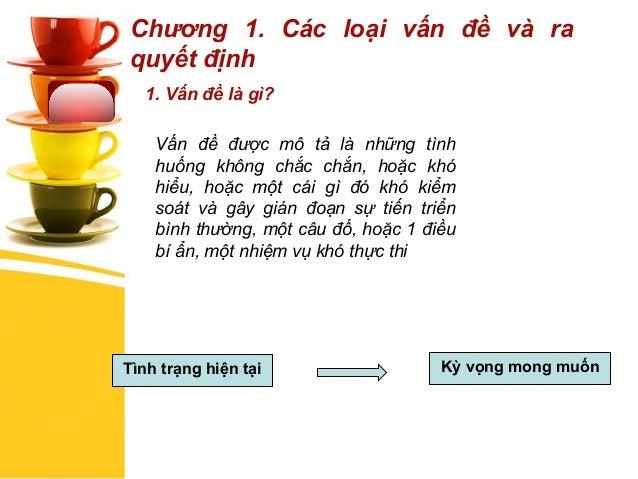 Kỹ năng xác định vấn đề và ra quyết định - TS Châu Đình Linh Slide 3