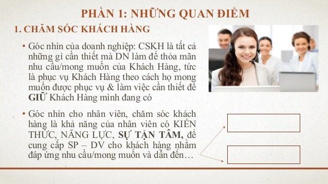 Kỹ năng giao tiếp trong chăm sóc khách hàng - TS Châu Đình Linh Slide 3