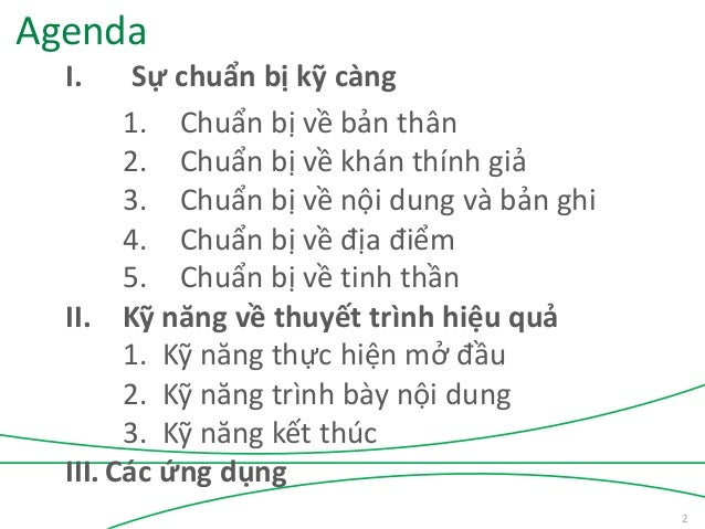 Kỹ năng thuyết trình hiệu quả - TS Châu Đình Linh Slide 2
