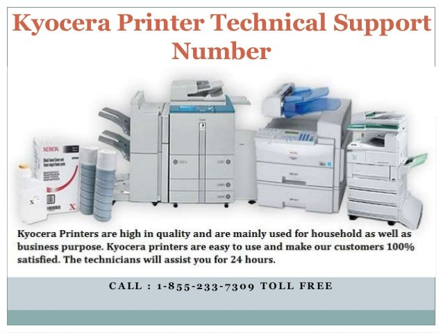 Kyocera Customer Support Phone Number!! Contact us: 1-855-233-7309 To…