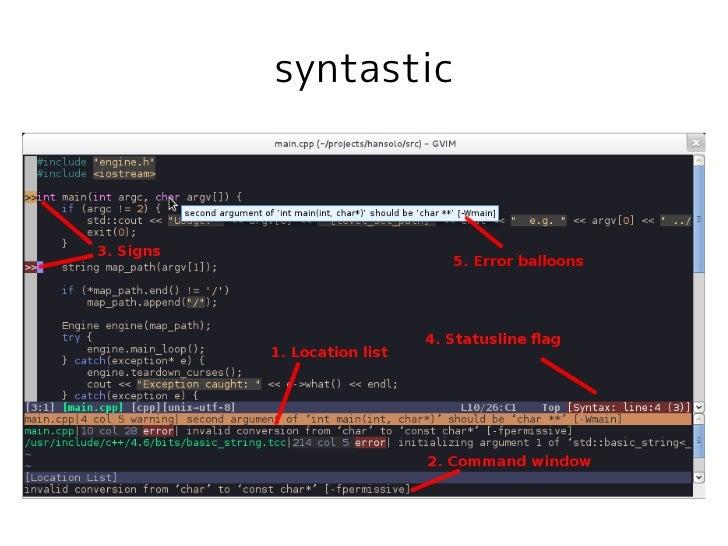 syntastic
