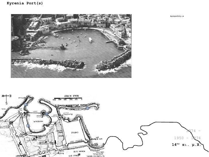 Kyrenia Port(s) 1974 – 1950 - 1974 14 ος  αι. μ.Χ. Δρομολόγια