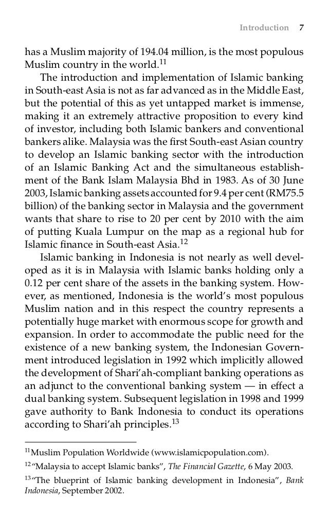 Islamic banking and finance in south east asia by angelo m vernandos 26 malvernweather Gallery