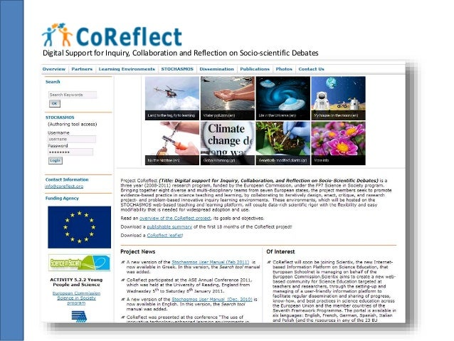 Digital Support for Inquiry, Collaboration and Reflection on Socio-scientific Debates  » Help-seeking  » Help giving