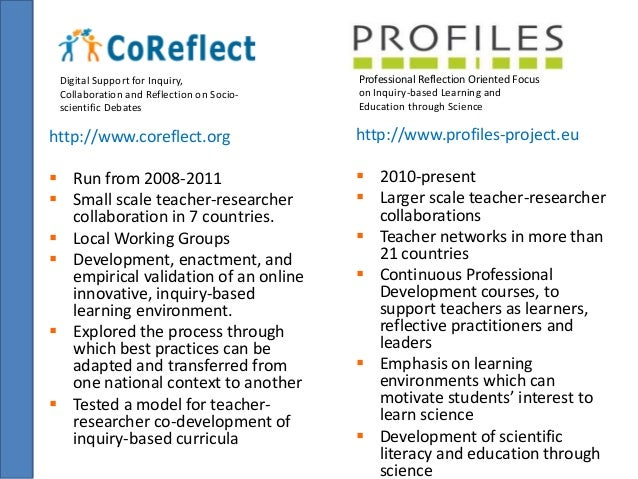 Digital Support for Inquiry,  Collaboration and Reflection on Socio-scientific  Debates  http://www.coreflect.org   Run f...