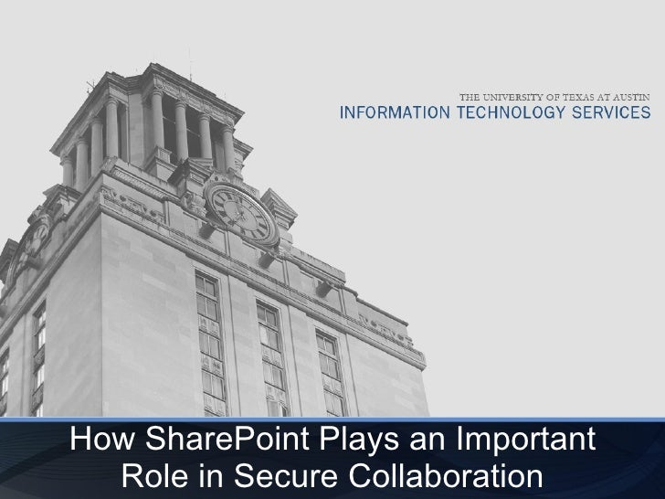How SharePoint Plays an Important Role in Secure Collaboration