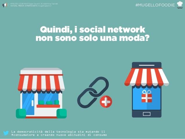 Quindi, i social network non sono solo una moda? #MUGELLOGRAM Filippo Giustini & Valentina Dainelli  SOCIAL MEDIA STRATE...