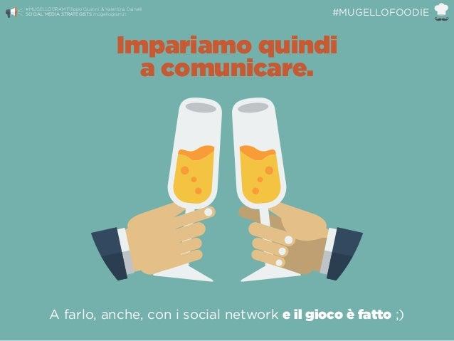 A farlo, anche, con i social network e il gioco è fatto ;) Impariamo quindi a comunicare. #MUGELLOGRAM Filippo Giustini &...
