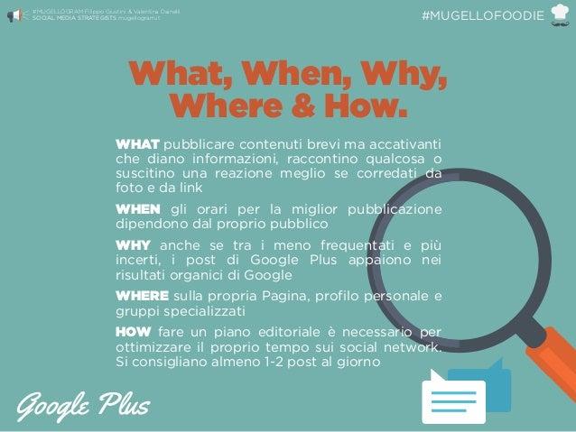 WHAT pubblicare contenuti brevi ma accativanti che diano informazioni, raccontino qualcosa o suscitino una reazione meglio...