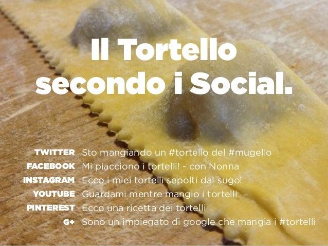 Il Tortello  secondo i Social. Sto mangiando un #tortello del #mugello Mi piacciono i tortelli! - con Nonna Ecco i miei t...