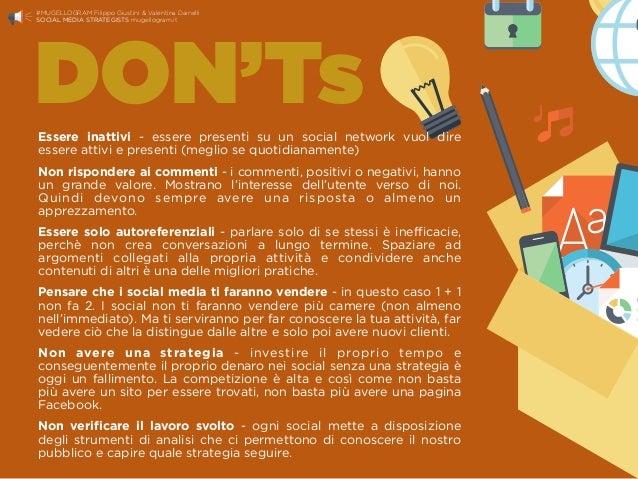 Essere inattivi - essere presenti su un social network vuol dire essere attivi e presenti (meglio se quotidianamente) Non ...