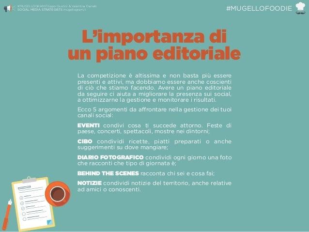 L'importanza di un piano editoriale La competizione è altissima e non basta più essere presenti e attivi, ma dobbiamo ess...