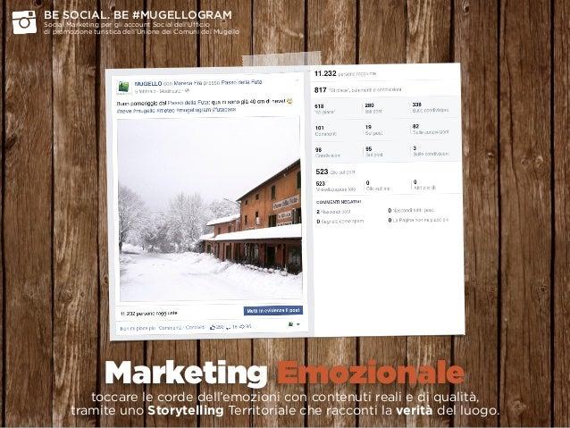 Marketing Emozionale toccare le corde dell'emozioni con contenuti reali e di qualità,  tramite uno Storytelling Territor...