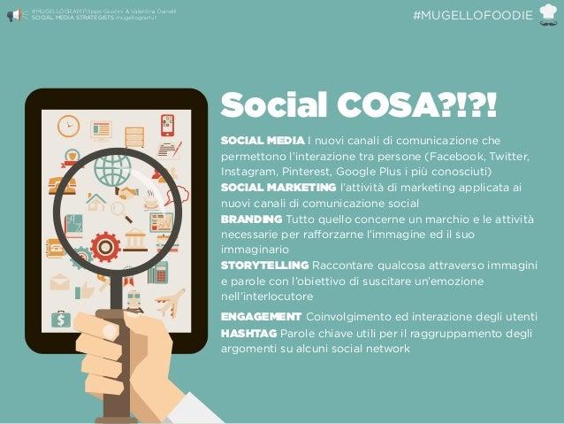 Social COSA?!?! SOCIAL MEDIA I nuovi canali di comunicazione che permettono l'interazione tra persone (Facebook, Twitter, ...