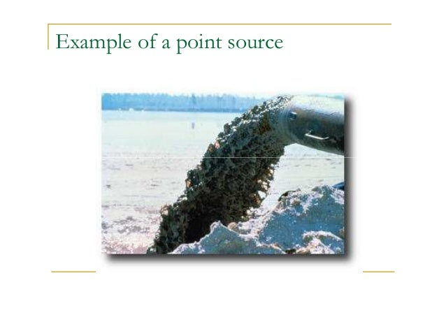 Example of a point source