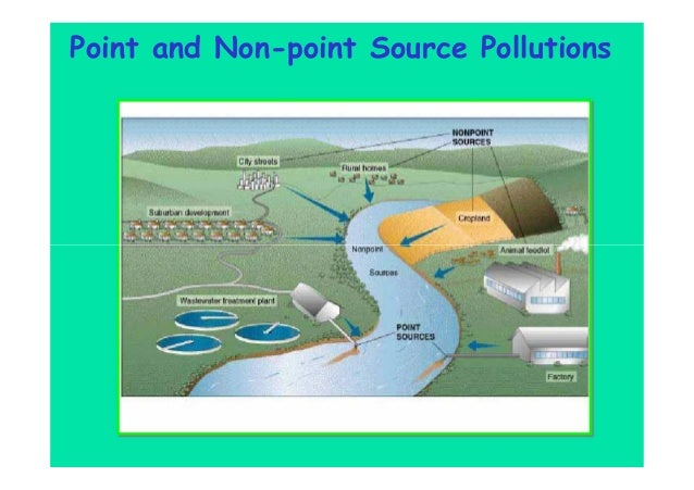 Point and Non-point Source Pollutions