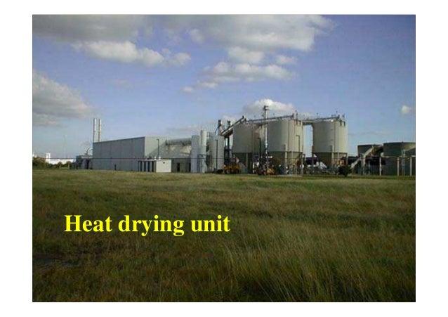 Sludge Reuse or Disposal Options Incineration • burning sludge at high temperatures in furnace • volume is reduced • ash i...